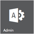 Screenshot of admin icon